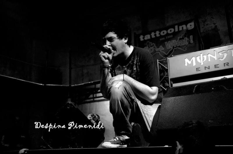 εικόνα από συναυλία hip hop