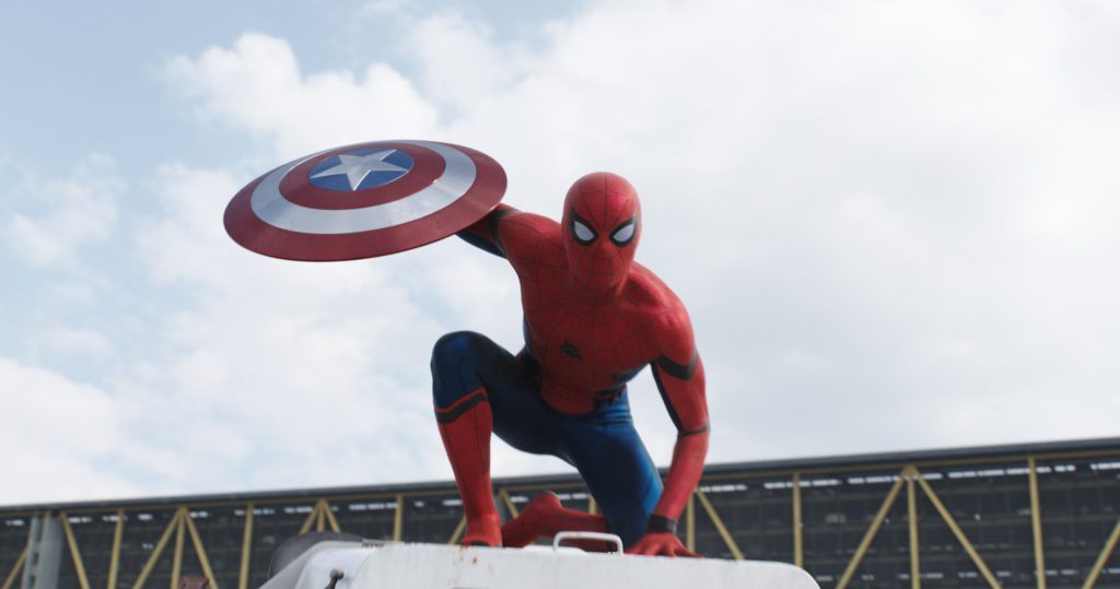 Marvel's Captain America: Civil War Spider-Man/Peter Parker (Tom Holland) Photo Credit: Film Frame © Marvel 2016