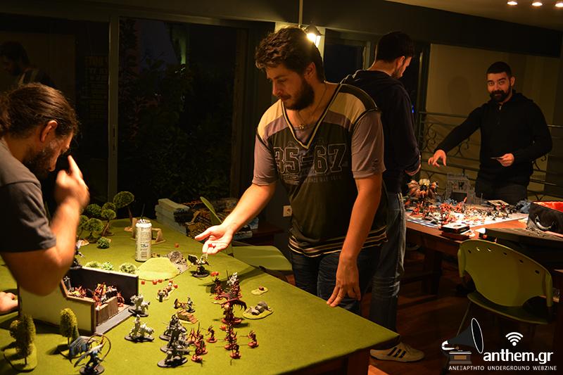παίζοντας επιτραπέζια