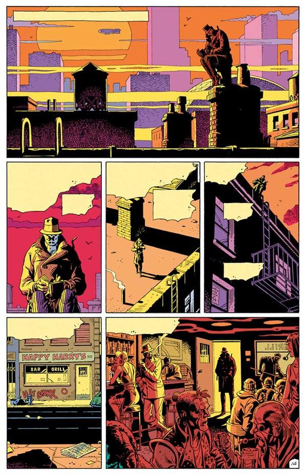 σελίδα από comic