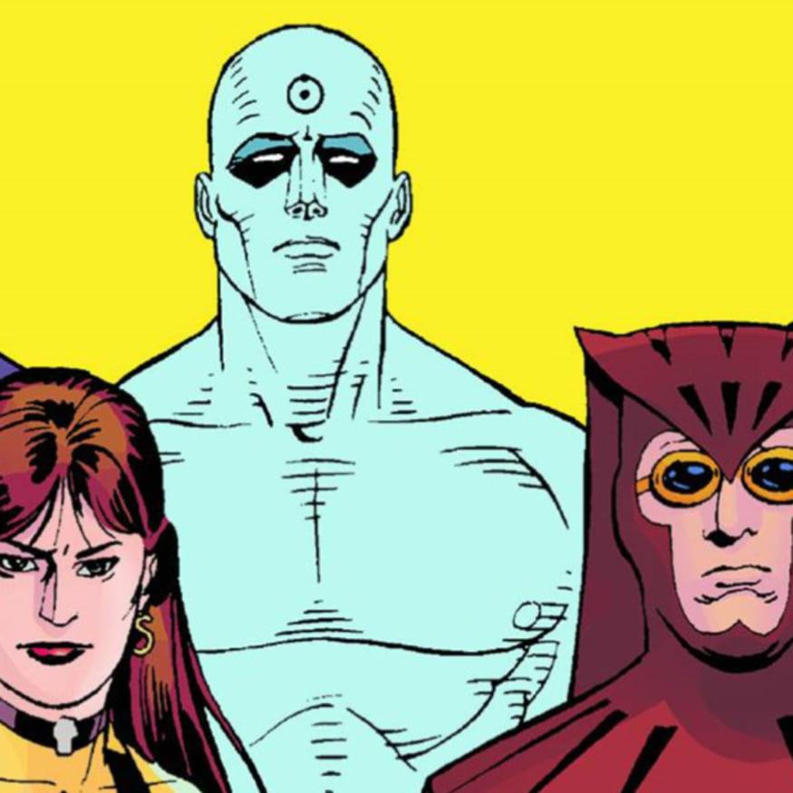 φωτογραφία από το comic watchmen
