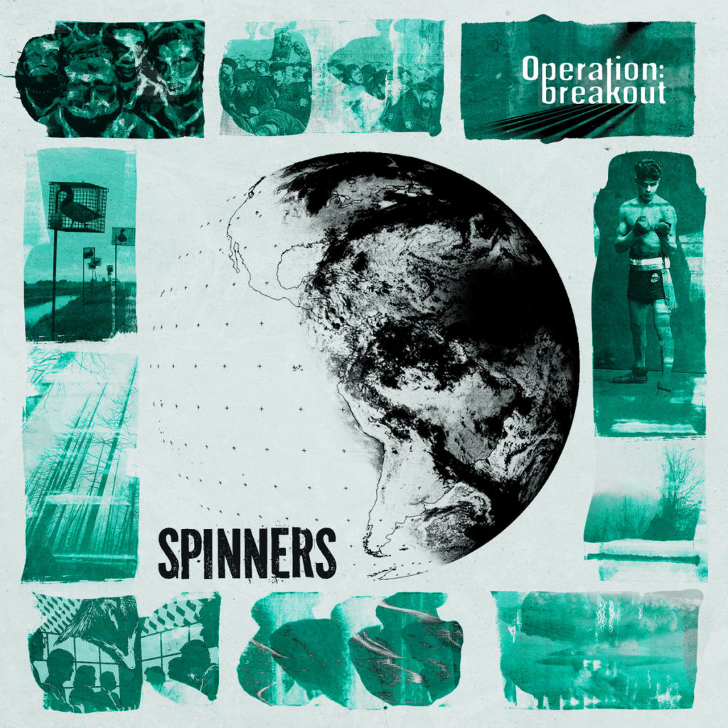 Spinners - Operation: Breakout (Cover)