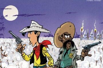 Σκίτσο από το Λούκυ Λουκ - Μπελάδες Στις Φυτείες
